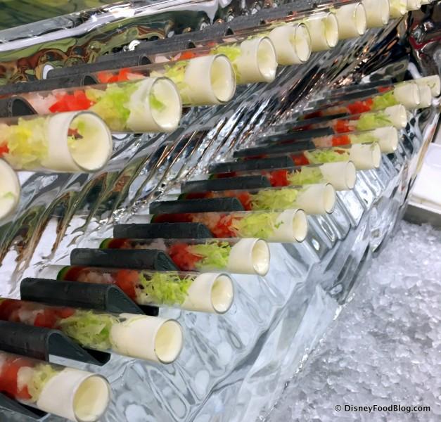 Shrimp Cocktail Steamroller