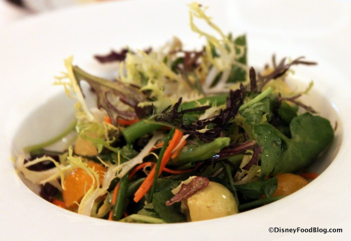Red Frill Mustard Greens and Watercress Salad