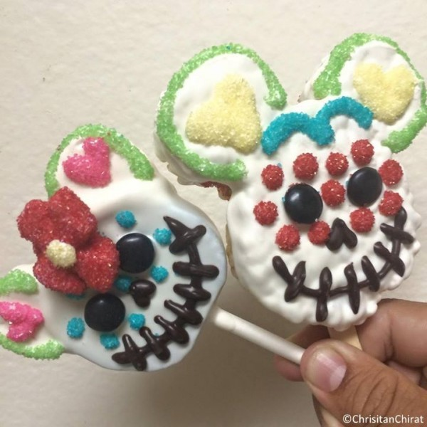 Day of the Dead treats from Disneyland!