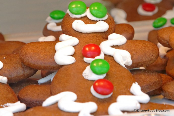 Decorating Gingerbread Men is a Must!