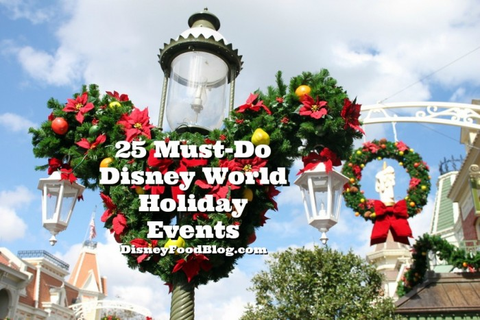 25 Must-Do Disney World Holiday Events