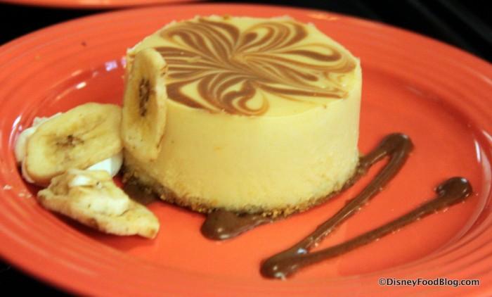 Bananas Foster Cheesecake