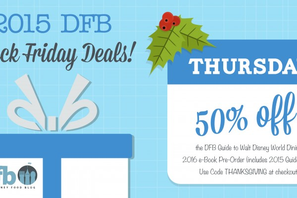 Save! Announcing the DFB Guide 50% Off Thanksgiving Day Sale