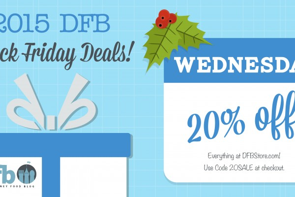 Pre-Holiday Deal! Save 20% Off EVERYTHING in the DFB Store TODAY!