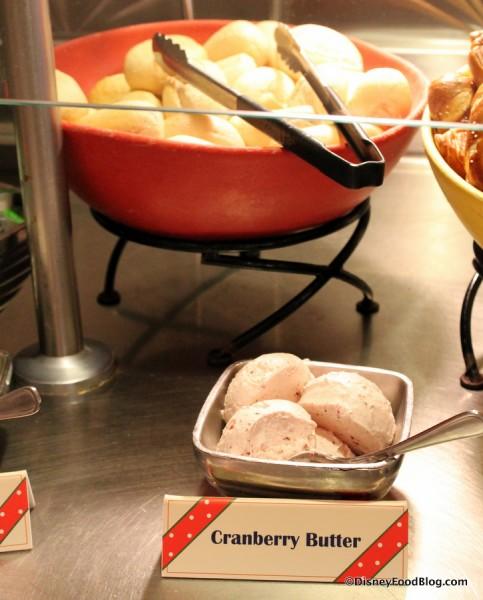 Dinner Rolls and Cranberry Butter