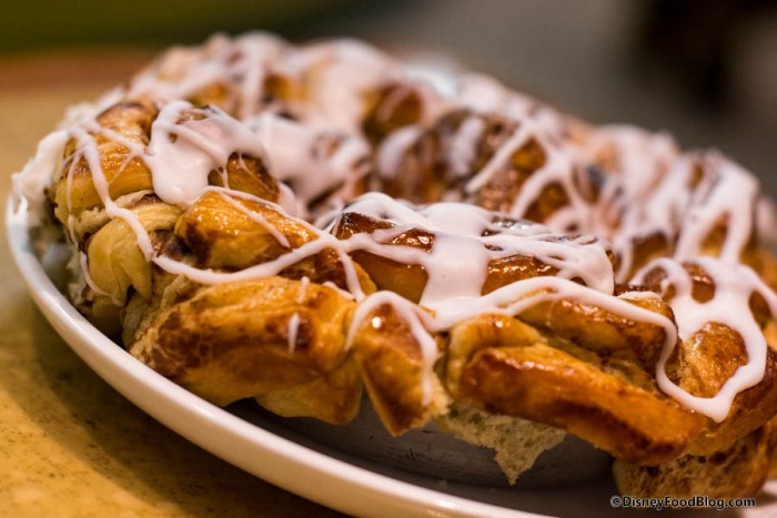 Cinnamon Bun Bake at Garden Grill