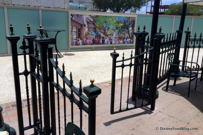 Gate Out to the Walkway