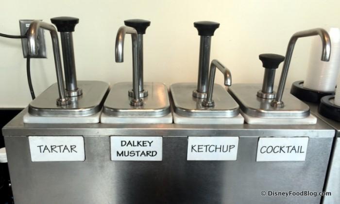 Condiment Dispenser