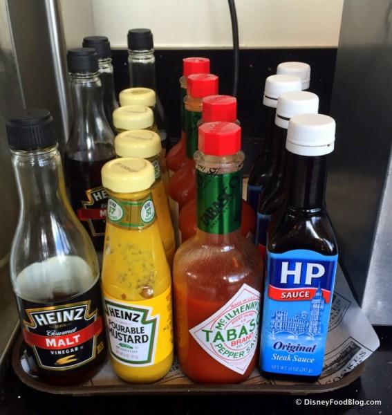 Bottled Condiments
