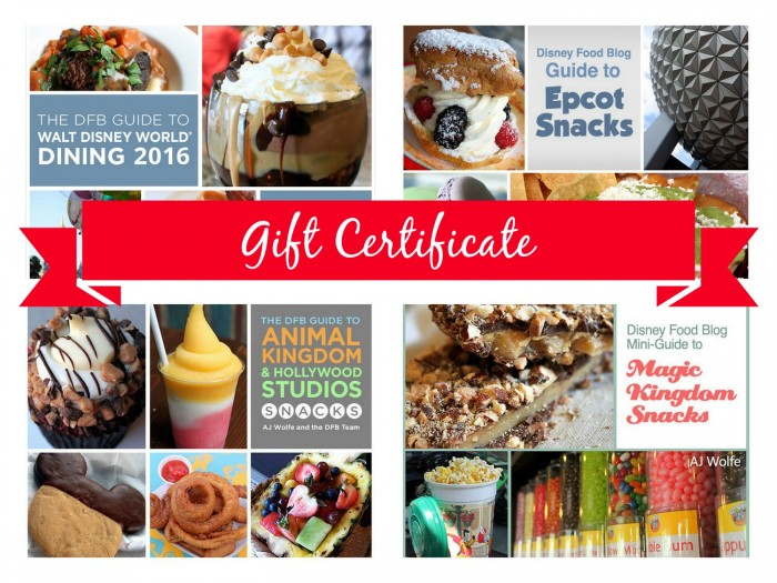 DFB Guide + Snacks Gift Certificate