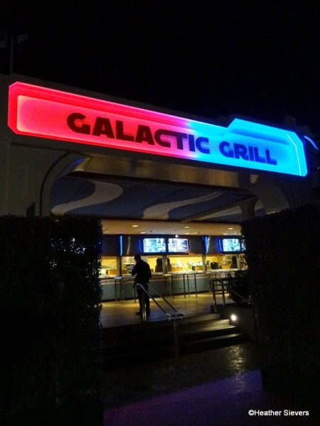 Galactic Grill AT NIGHT!
