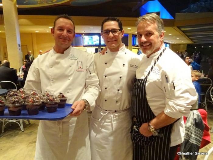 Executive Concept Chef Christopher Maggetti, Executive Chef of Disneyland Jason Martin, & Executive Chef of the Disneyland Resort John State