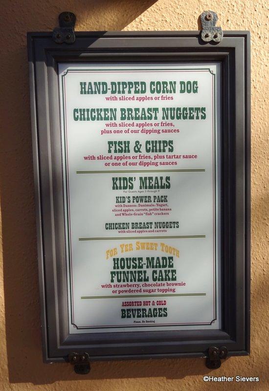 Stage Door Cafe Menu & Dining in Disneyland: Secret Menu Mozzarella Sticks at Stage Door ...