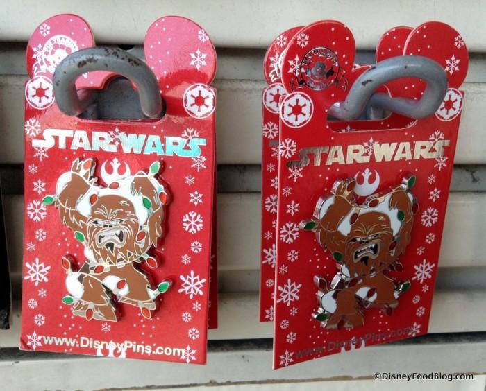 Chewbacca Holiday Pin
