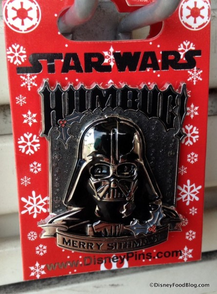 Darth Vader Holiday Humbug Pin