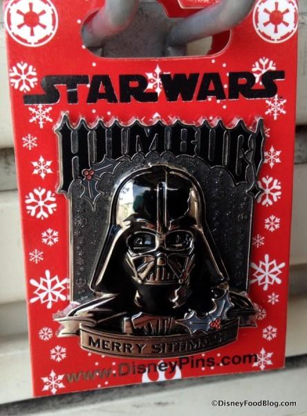 Darth Vader Holiday Humbug Pin