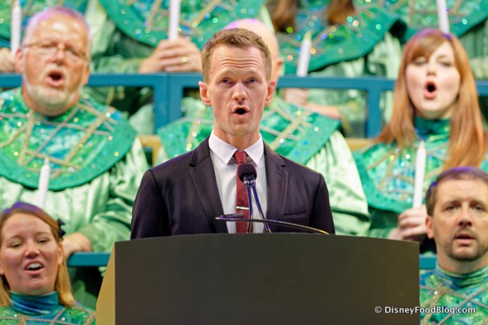 Neil Patrick Harris Narrating the Candlelight Processional
