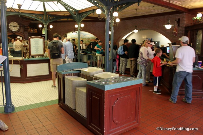 French Market Food and Ordering Area