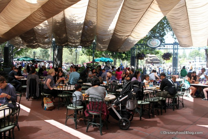 The French Market Outdoor Seating