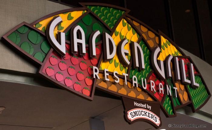 Garden Grill Sign