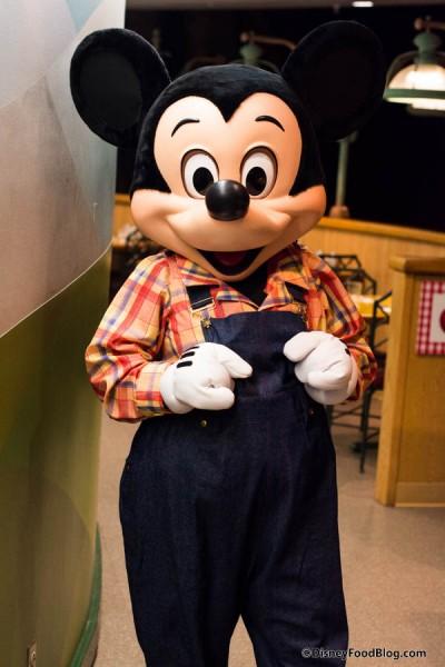 Farmer Mickey!