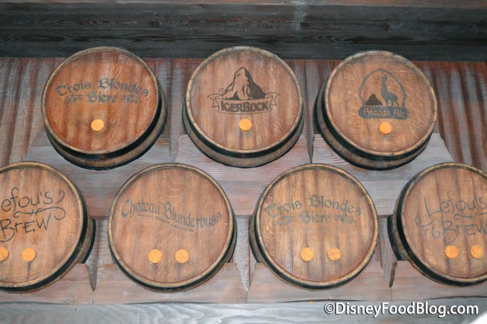 Barrels In The Ordering Area