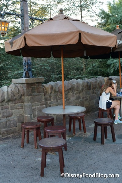 Gaston's Tavern Outdoor Seating