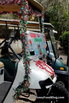 Christmas Eve Golf Cart Parade at Ft. Wilderness