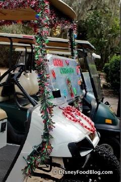 Christmas Eve Golf Cart Parade at Ft. Wilderness