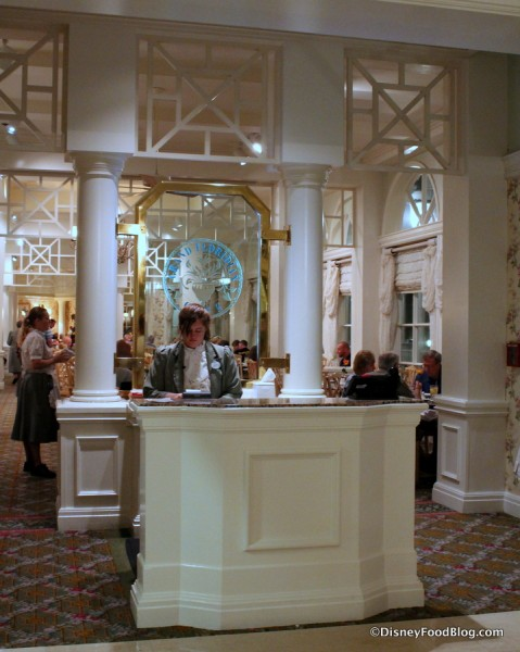 Grand Floridian Cafe Entrance