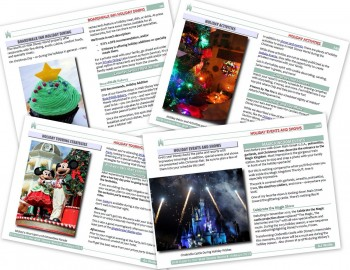 Holiday Guide Sample Pages!