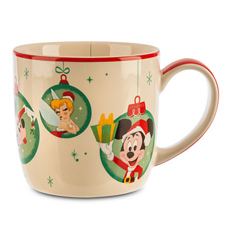 Mickey, Minnie, and Tinker Bell Mug