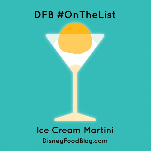 #OnTheList Ice Cream Martini