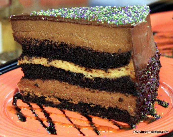Layered Chocolate Mousse Cake