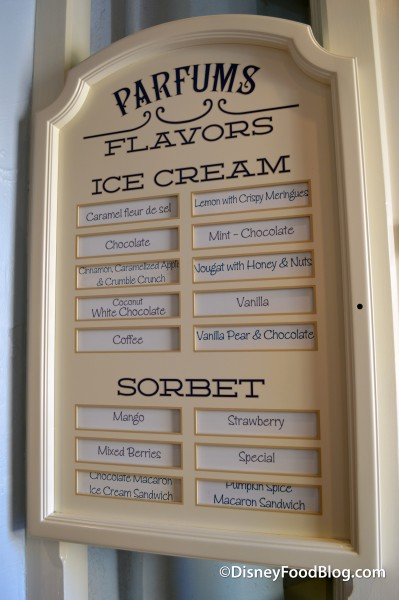 Ice Cream and Sorbet Flavor