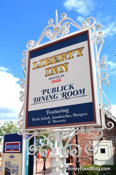 Liberty Inn Sign