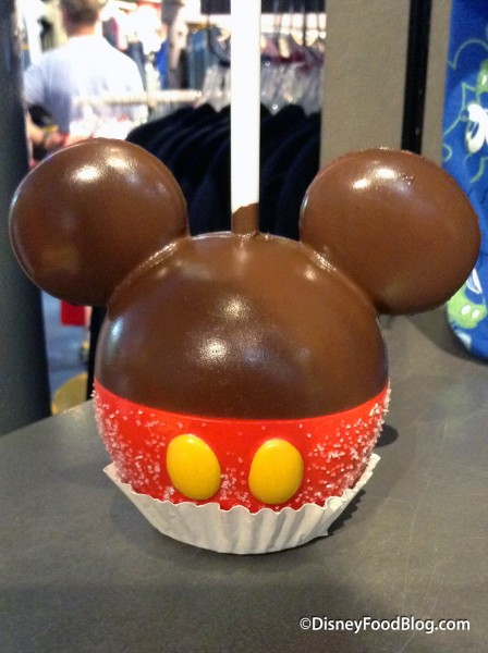 Mickey Mouse Caramel Apple Magnet