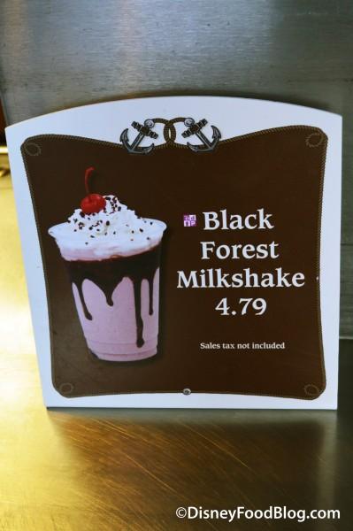 Black Forest Milkshake