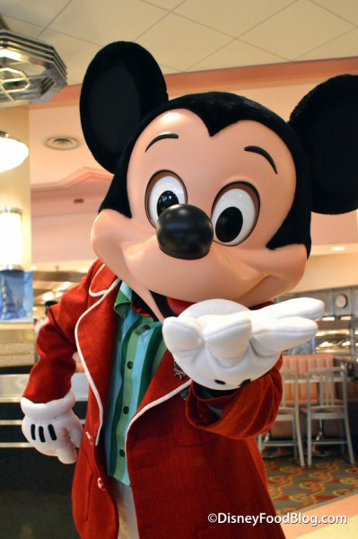 Mickey at Minnie's Holiday Dine