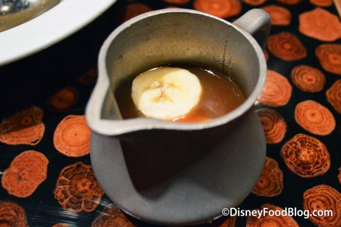 Banana Caramel Sauce Pourer