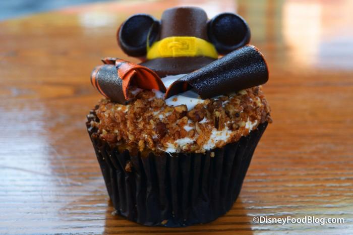 Thanksgiving Pumpkin Cupcake