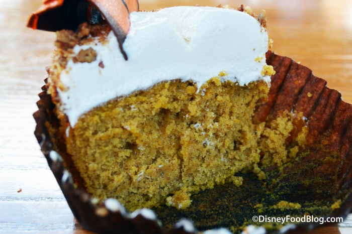 Thanksgiving Pumpkin Cupcake