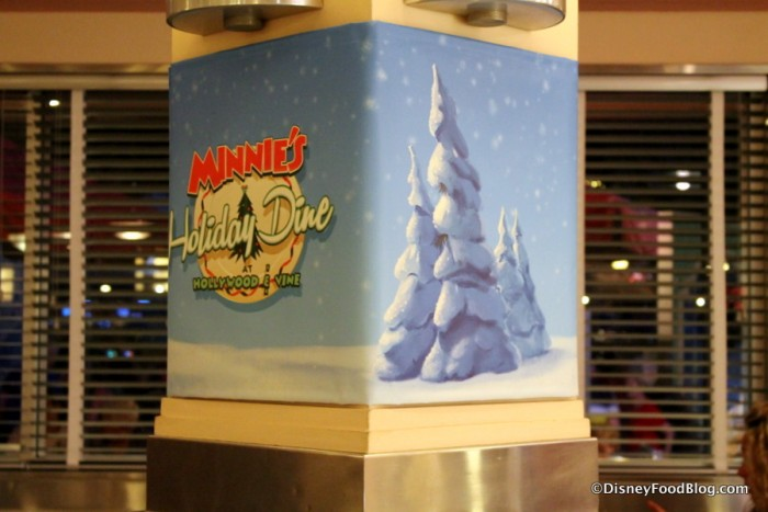 Minnie's Holiday Dine banner