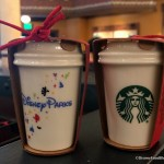 Spotted: Disney Parks Exclusive Starbucks Mug and Cup Ornaments