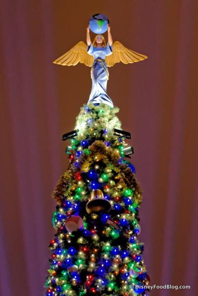 Epcot Tree -- Peace Angel