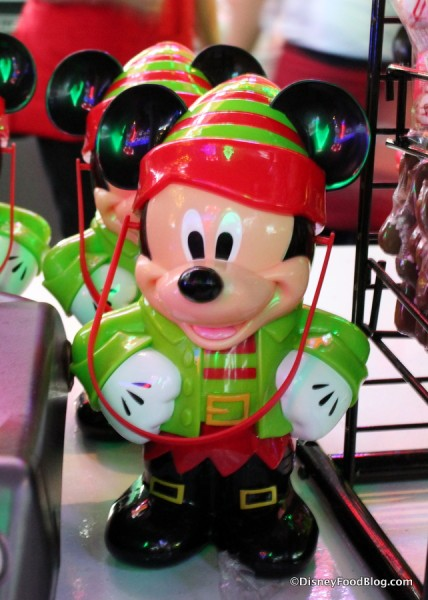 Elf Mickey Popcorn Bucket