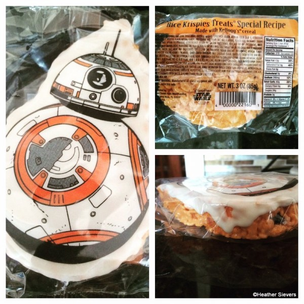 BB-8 Rice Krispies Treat