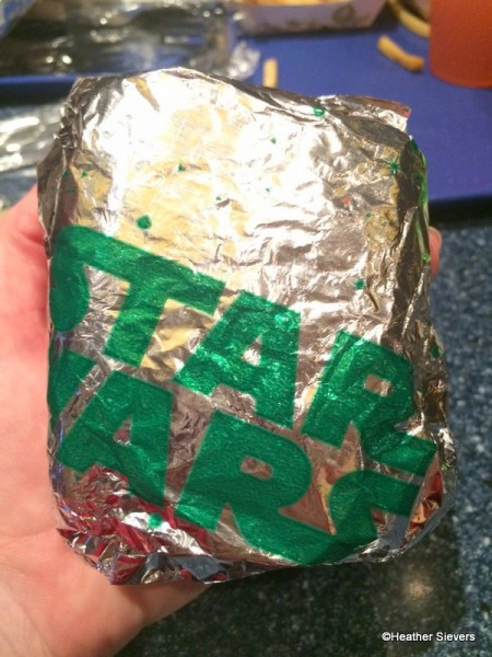 Star Wars Foil Wrapper