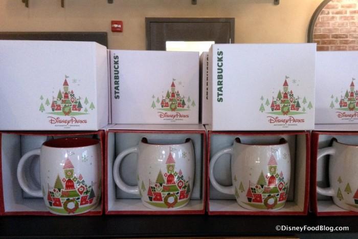 Starbucks Disney Parks Holiday Mug