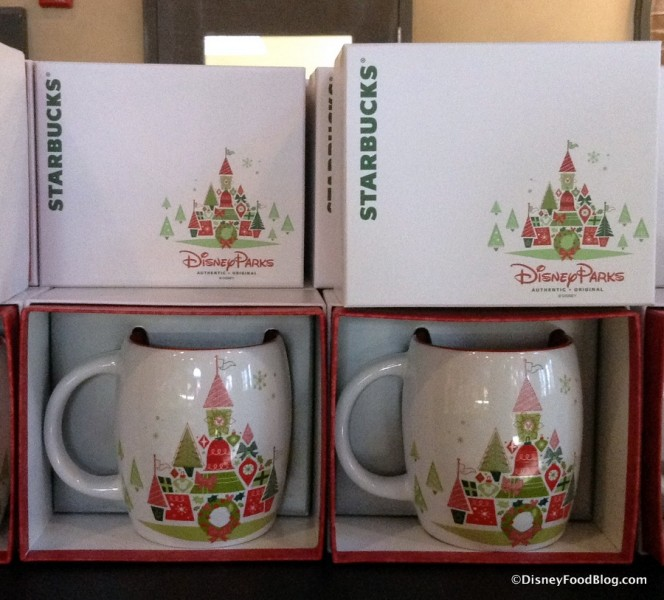 Starbucks Disney Parks Holiday Mug